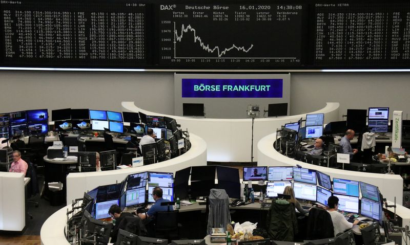 European shares at record high as cross-Atlantic trade tensions abate