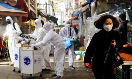 South Korea reports 334 new coronavirus cases, postpones military drill with U.S. troops