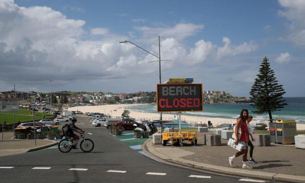 Australia opens pop-up coronavirus test clinic at Bondi Beach